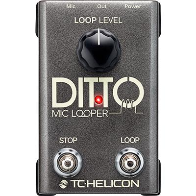 TC ELECTRONIC Ditto Mic Looper Pedals and FX TC Electronic