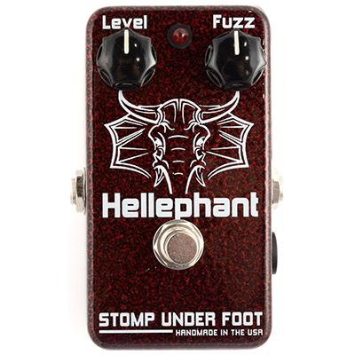 STOMP UNDER FOOT Hellephant Pedals and FX Stomp Under Foot
