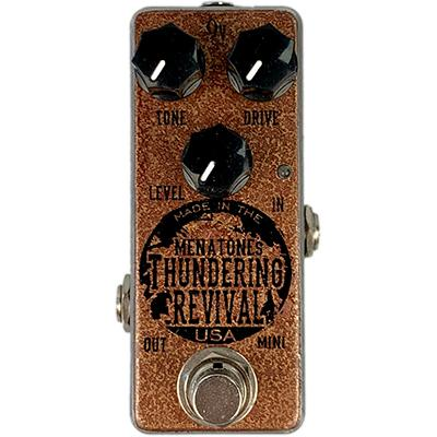 MENATONE Thundering Revival Mini Pedals and FX Menatone