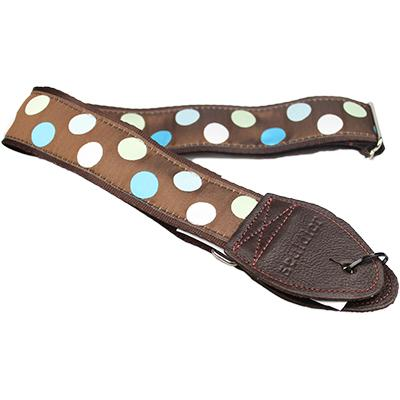 "SOULDIER STRAPS Vintage 1.5"" - Polka Dots Blue Accessories Souldier Straps"
