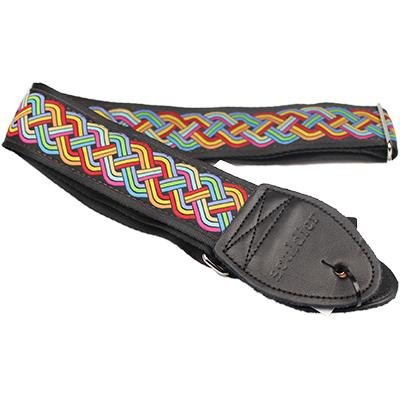 "SOULDIER STRAPS Vintage 1.5"" - Celtic Knot Rainbow Accessories Souldier Straps"