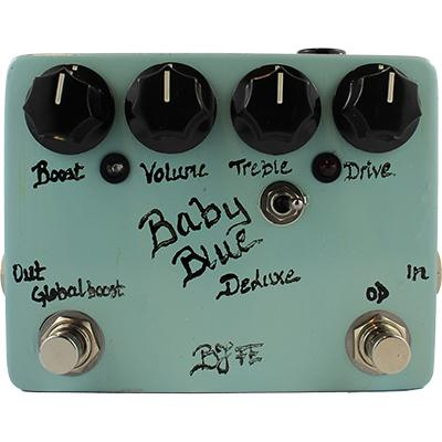 BJF ELECTRONICS Baby Blue OD Deluxe Pedals and FX BJF Electronics
