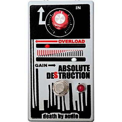 DEATH BY AUDIO Absolute Destruction Pedals and FX Death By Audio
