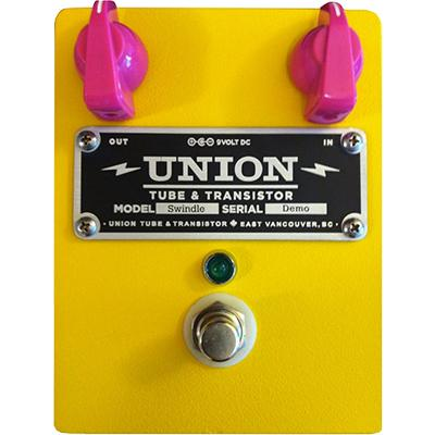 UNION TUBE & TRANSISTOR Swindle Pedals and FX Union Tube & Transistor