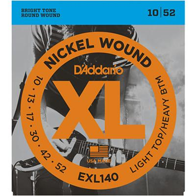 DADDARIO EXL140 Strings 010-052 Light Top / Heavy Bottoms