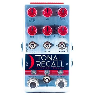 CHASE BLISS AUDIO Tonal Recall Red Knob Mod Pedals and FX Chase Bliss Audio