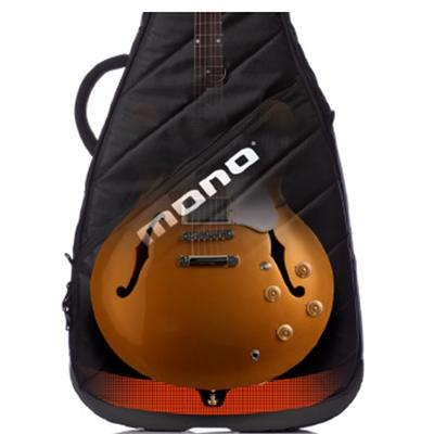 MONO Vertigo Semi-Hollow Guitar Case Black (In-Store Only)