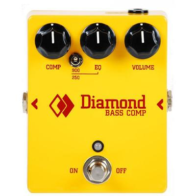 DIAMOND Bass Compressor Pedals and FX Diamond Pedals