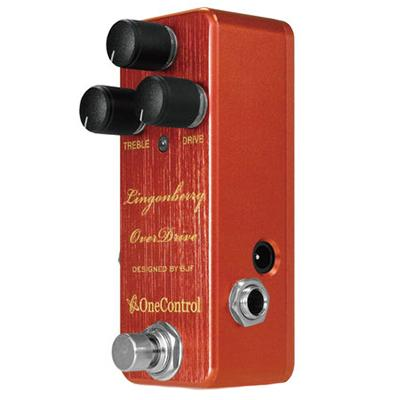 ONE CONTROL Lingonberry Overdrive Pedals and FX One Control