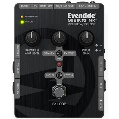 EVENTIDE Mixing Link Preamp and FX Loop Pedals and FX Eventide