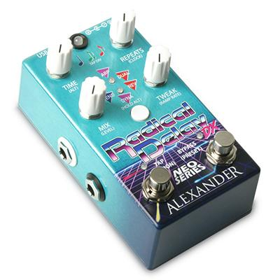 ALEXANDER PEDALS Radical Delay DX Pedals and FX Alexander Pedals