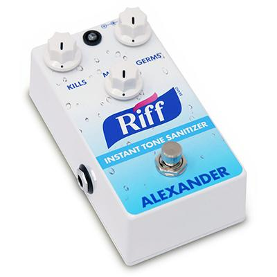 ALEXANDER PEDALS The Riff Pedals and FX Alexander Pedals