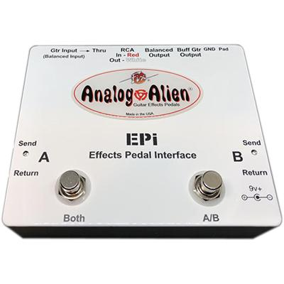ANALOG ALIEN Effects Pedal Interface (EPI) Pedals and FX Analog Alien