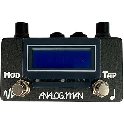 ANALOG MAN AMAZE1 Analog Delay Tap Tempo / Modulation Controller Pedals and FX Analog Man