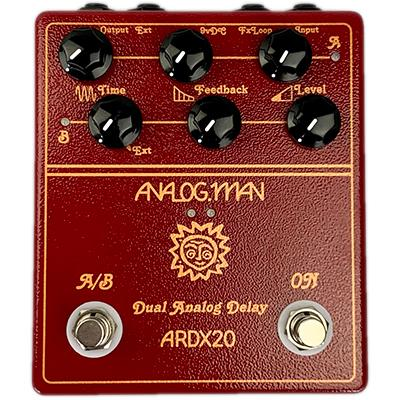 ANALOG MAN ARDX20 Dual Analog Delay Pedals and FX Analog Man