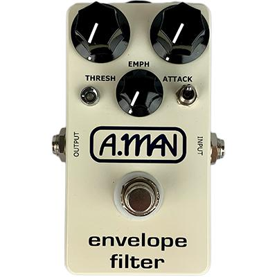 ANALOG MAN Block Logo Envelope Filter Pedals and FX Analog Man