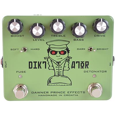 DAWNER PRINCE EFFECTS Diktator Pedals and FX Dawner Prince