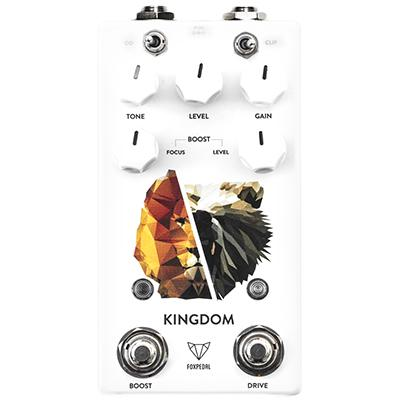 FOXPEDAL Kingdom Combo V2 Pedals and FX Foxpedal