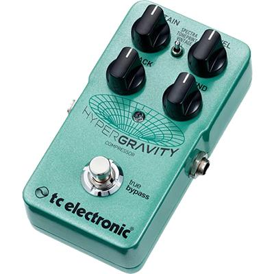 TC ELECTRONIC Hyper Gravity Compressor Pedals and FX TC Electronic