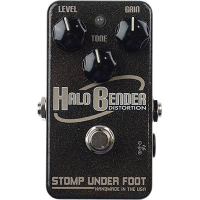 STOMP UNDER FOOT Halo Bender Distortion Pedals and FX Stomp Under Foot