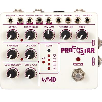 WMD Protostar Pedals and FX WMD
