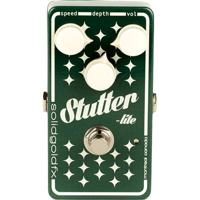 SOLID GOLD FX Stutter-Lite Pedals and FX Solid Gold FX