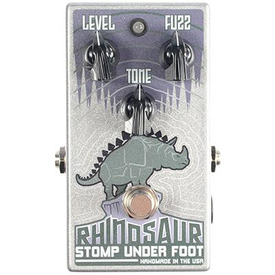 STOMP UNDER FOOT Rhinosaur Bass Fuzz Pedals and FX Stomp Under Foot