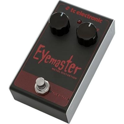 TC ELECTRONIC Eyemaster Metal Distortion Pedals and FX TC Electronic