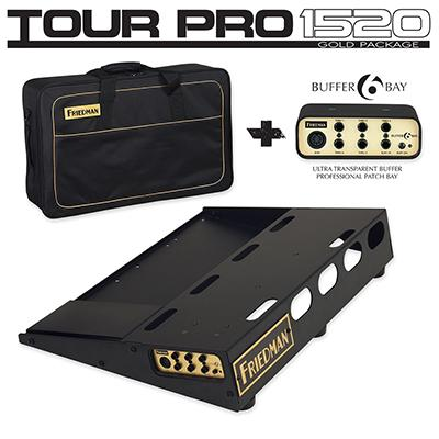 FRIEDMAN Tour Pro 1520 Gold Package Accessories Friedman Amplification