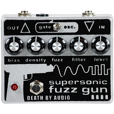 DEATH BY AUDIO Supersonic Fuzz Gun Pedals and FX Death By Audio