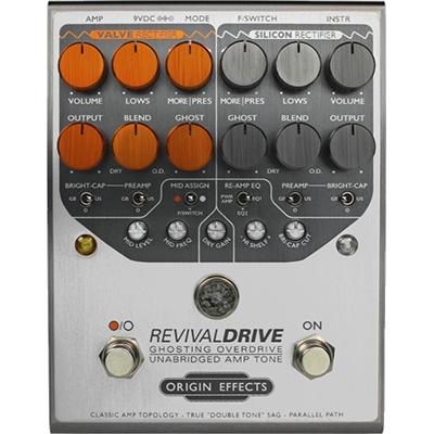 ORIGIN EFFECTS Revival Drive Pedals and FX Origin Effects