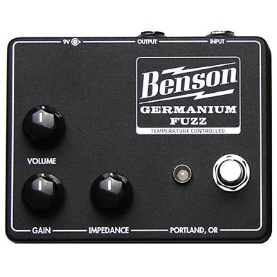 BENSON AMPS Germanium Fuzz (Studio Black)
