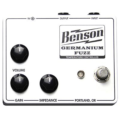 BENSON AMPS Germanium Fuzz (Solar White)