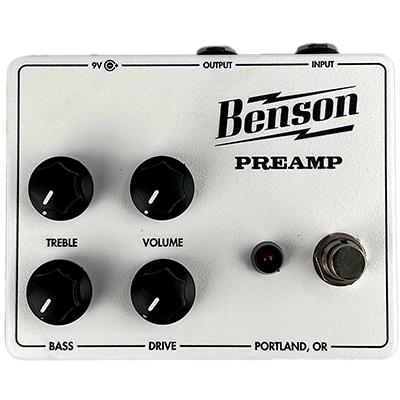 BENSON AMPS Tuxedo Preamp Pedals and FX Benson Amps