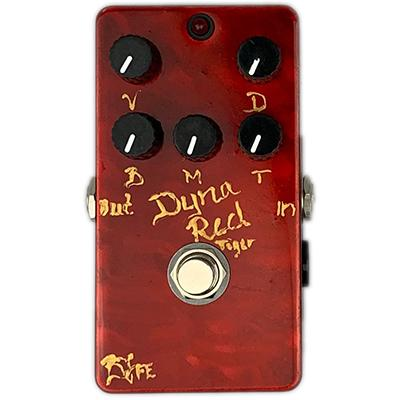 BJF ELECTRONICS Dyna Red Tiger 5K Pedals and FX BJF Electronics