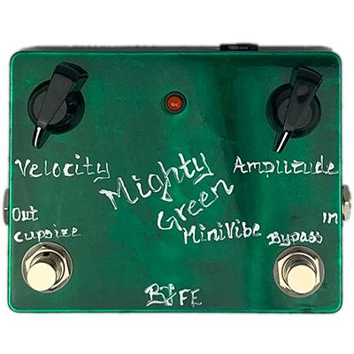 BJF ELECTRONICS Mighty Green Mini Vibe Deluxe Pedals and FX BJF Electronics