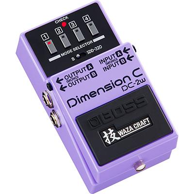 BOSS DC-2W Dimension C Waza Craft Pedals and FX Boss