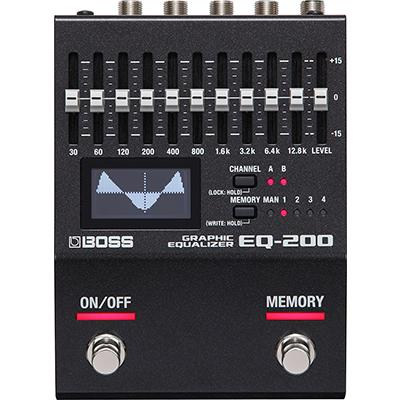 BOSS EQ200 Graphic Equaliser Pedals and FX Boss