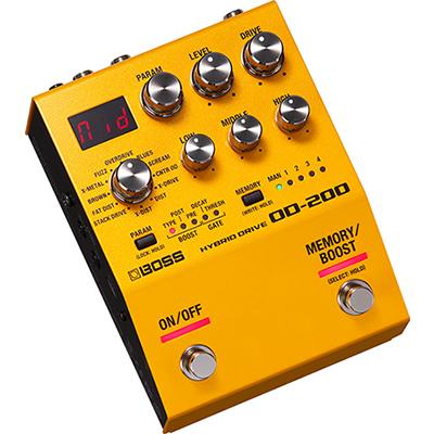 BOSS OD200 Overdrive Pedals and FX Boss