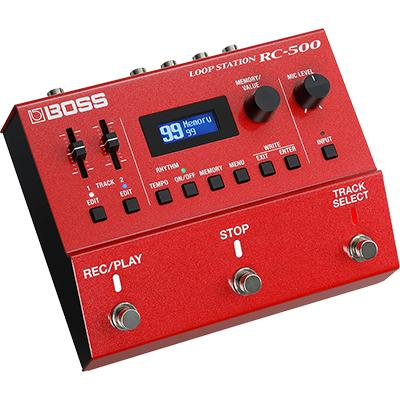 BOSS RC-500 Loop Station Pedals and FX Boss