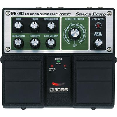 BOSS RE-20 Space Echo Pedals and FX Boss