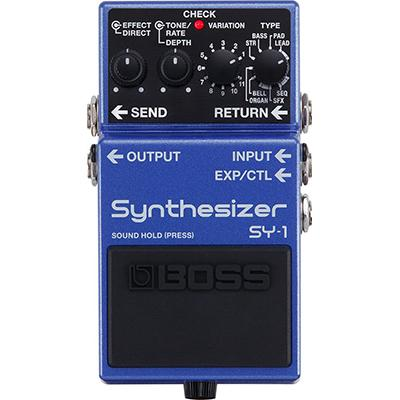 BOSS SY-1 Synthesizer Pedals and FX Boss