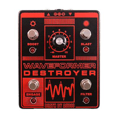 DEATH BY AUDIO Waveformer Destroyer Pedals and FX Death By Audio