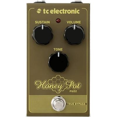 TC ELECTRONIC Honey Pot Fuzz Pedals and FX TC Electronic