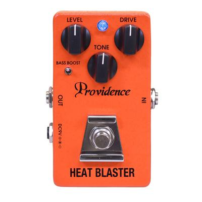 PROVIDENCE HBL-4 Heat Blaster Pedals and FX Providence