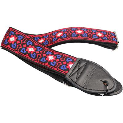 "SOULDIER STRAPS Vintage 2"" - Fillmore Red/White/Blue Accessories Souldier Straps"