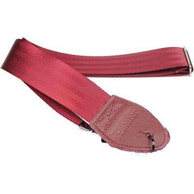 SOULDIER STRAPS Plain Seatbelt - Burgundy Accessories Souldier Straps