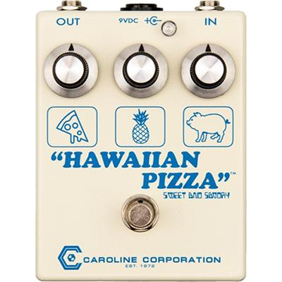 CAROLINE Hawaiian Pizza Pedals and FX Caroline Guitar Company