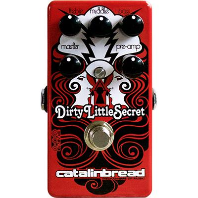 CATALINBREAD Dirty Little Secret RED Pedals and FX Catalinbread