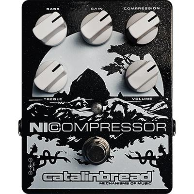 CATALINBREAD NICOMPRESSOR - Black & Silver